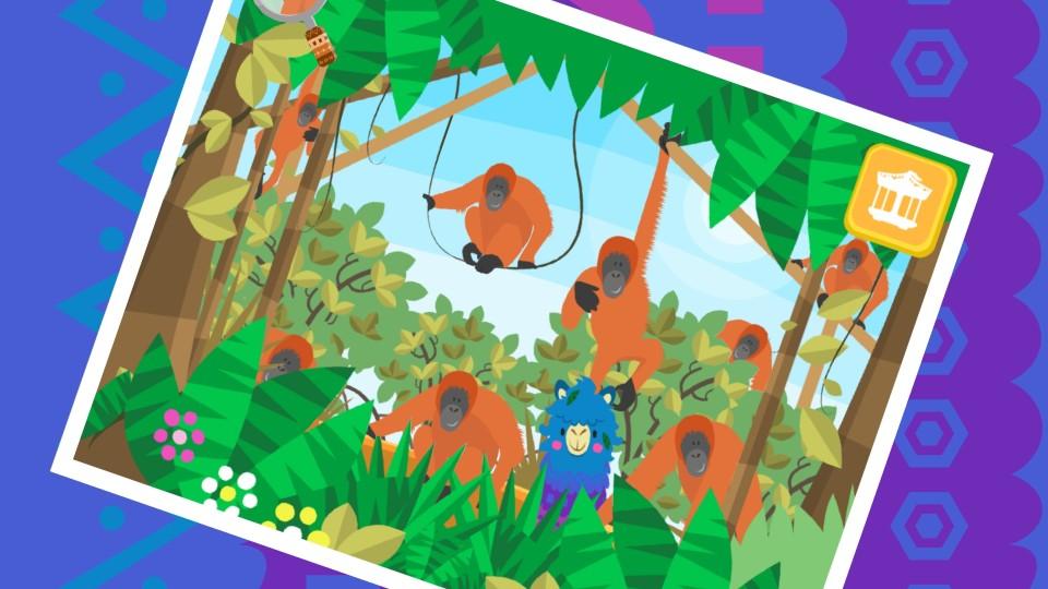 Orangutang Slide